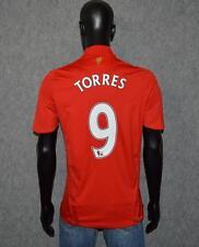 Fernando TORRES #9 Liverpool Home Football Shirt Jersey 2008-2010 (S)