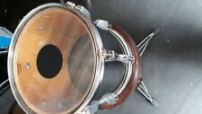 "10"" Tom Tom Drum and clamp assembly with brand new Code law drum heads fitted"