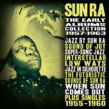 SUN RA New Sealed 2018 EARLY RECORDINGS 4 CD BOXSET