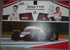 Le MANS CME Elms CHAMPIONS SILVERSTONE 2015 1st in LMP3 GINETTA NISSAN Chris Hoy