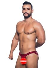 Andrew Christian Red Crave Jock Size X-Small (Ships Same Day)