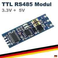 TTL RS485 Adapter 485 UART Seriell 3.3V 5 Volt Level Konverter Modul Arduino ...
