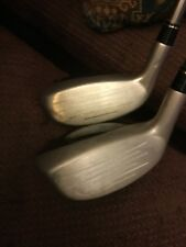 Taylormade Rescue Dual 22* 4 & 25* 5 Hybrid Ultralite 65 Graphite R Flex With HC