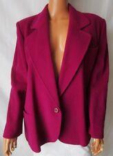ACCENTO Marzotto Giacca Cappotto Coat Jacket TG.46 tonalità Viola