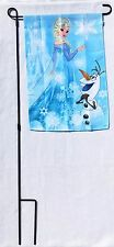 Garden Flag and Flag Pole Yard Flag Decorative Flag House Flag Disney FROZEN