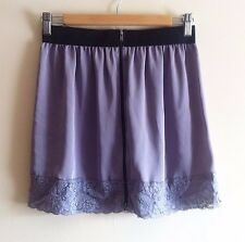 Lilac Topshop Skirt - Size 10-12   ELASTICATED, SILKY, LACE