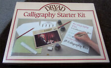 DRYAD CALLIGRAPHY STARTER SET - PEN, NIBS, INK, RULER, PAPER + FULL INSTRUCTIONS