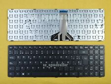 New For Lenovo Ideapad 100-15IBD Keyboard Spanish Teclado Black Frame Long cable