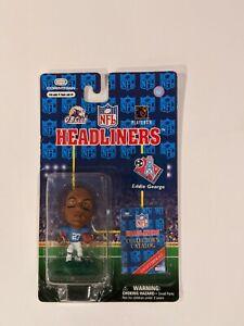 """1997 NFL Headliners EDDIE GEORGE Tennessee Oilers 3"""" Action Figure MIP"""