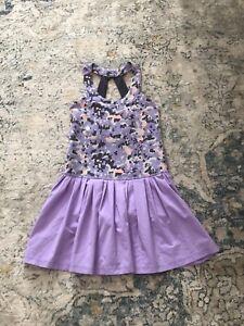 IVIVVA Lululemon Girls Sz 6 Dress VGUC
