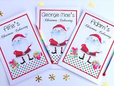 Personalised A5 Christmas Eve Gift Box Activity Pack, Book Gift Stocking Filler