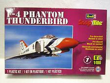 REVELL PLASTIC MODEL KIT F-4 PHANTOM THUNDERBIRD 1:100 #1366 NEW IN BOX