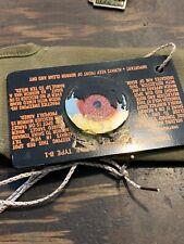 Vintage Wwii Era Military Mirror Signal Original Bag Some Damage