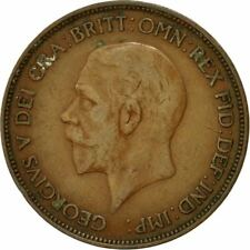 [#433057] Coin, Great Britain, George V, Penny, 1935, VF(20-25), Bronze, KM:838