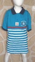 Tee shirt  bleu turquoise neuf marque AEROPILOTE  taille 14 ans (dy)