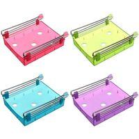 Slide Kitchen Fridge Freezer Space Saver Organization Storage Rack Shelf Holder