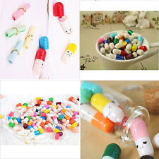 Exquisite Multiple Color 50pcs Message Letter Capsule Fancy Love Pills Cute Gift