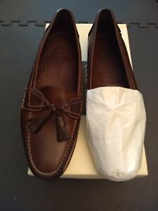 COLE HAAN BAYLOR BURNT IVORY COUNTRY SIZE 12D NEW IN BOX