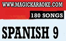 ENTERTECH MAGIC SING KARAOKE MIC LT-4 Spanish 9 Latin Song Chip