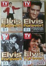 Tv Guide Lot Of 4 Elvis Presley 1997 Anniversary Covers. Near mint no label