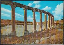 Jordanien Jordan used Post Card Postkarte The Forum ruins Jarash [cm536]
