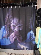 Sample Prototype Fan Painting The Exorcist Shower Curtain Linda Blair Horror