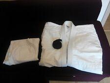 Judo Anzug KWON Kimono NEU weiss 180 Baumwolle + schwarz Gürtel NEU