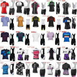 Women's Cycling Short Sleeves jersey bib shorts sets Ropa Ciclismo Bike NY2