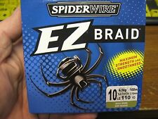 SpiderWire Ez Braid Braided Fishing Line / Moss Green / 10 Lb / 110 Yards