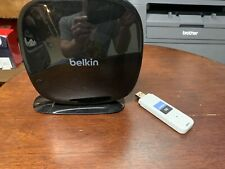 Belkin N600 DB WiFi Dual Band N+ Router And Linskys Cisco Range Pro USB adapter