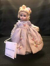 """Pristine Madame Alexander 6"""" Porcelain Doll Lilac Rococo Lady From 2000 #27020"""