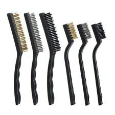 Wire Brush Set for Cleaning Welding Slag, Rust and Dust, 6 Pieces, Stainles U1N2