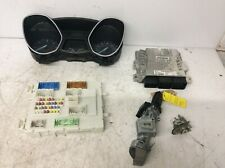 2013 FORD FOCUS MK3 TITANIUM 1.6 TDCI ENGINE ECU KIT BV61-12A650-NK  - HDK