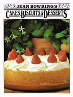 Favourite Cakes, Biscuits and Desserts by Bowring, Jean Hardback Book The Fast