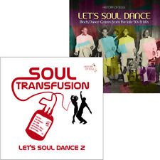 Let's Soul Dance and Soul Transfusion on HISTORY OF SOUL