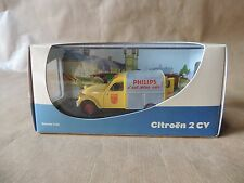 Citroën - 2 Cv Camionnette Philips  - éch: 1/43 collection eligor edition Atlas