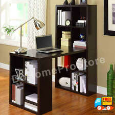 Small Home Office Workstation Craft Sewing Table Hobby Desk w 12 Cubical Storage