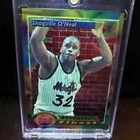 1993-94 Topps Atlantic's Finest Shaquille O'Neal #99 SHAQ  Orlando Magic Lakers
