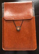 """KAMOR  iPad / Tablet felt & leather 13"""" case"""