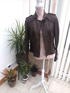 Karen Millan Leather Jacket 12