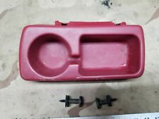 92-96 Ford F150 F250 F350 Bronco Cup Holder Ruby Red OEM 1992 1993 1994 1995