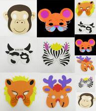 6 x Animal Zoo Farm Fish Bird Jungle Safari Foam Mask Costume Fancy Dress Child