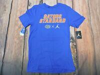 Nike Air Jordan Jumpman GATORS T shirt Blue Athletic Cut Men's Adult Small