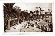 CPA -Carte postale-FRANCE - Saint Raphael - Sur la Promenade et Plage S4670