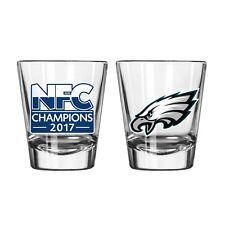 Super Bowl 52 Satin Etched Shot Glass Philadelphia Eagles