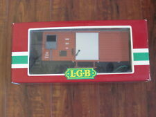 Lehmann-LGB 4027 MOB Metal Door Boxcar - NIB Made In Germany