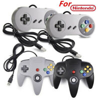 USB Super Classic Game Pad N64 Controller & SNES Controller for Windows PC MAC