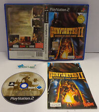 Console Game SONY Playstation 2 PS2 PAL ITA GUNFIGHTER 2 REVENGE OF JESSE JAMES