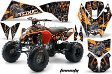 AMR Racing KTM 450/525 XC ATV Graphics Decal Kit Quad Stickers 08-13 TOXIC ORNG