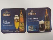 AUSTRIAN Beer Coaster ~ Brauerei Hirt Hirter Privat Pils Bier ~ Austria Est 1270
